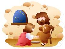 Un'espressione biblica Immagine Stock