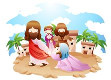 Un'espressione biblica Fotografia Stock