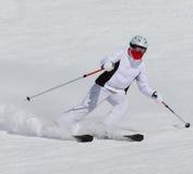Esquiador Imágenes de archivo libres de regalías