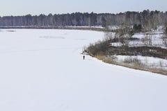 Finales del invierno Foto de archivo libre de regalías