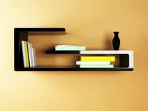 Un estante creativo ilustración del vector