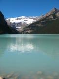 Un estiramiento de Lake Louise Imagen de archivo libre de regalías