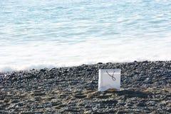 Un estratto sulla spiaggia fotografie stock