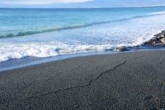 Un estratto sulla spiaggia immagini stock