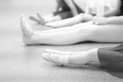 Un estudio de la danza Imágenes de archivo libres de regalías