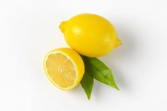 Un et demi citron Photographie stock