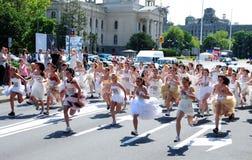 'Un evento della corsa di nozze' Fotografia Stock