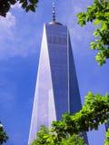 Un exertior del World Trade Center Imagen de archivo
