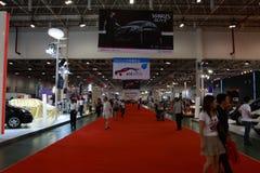 un'Expo delle 2008 automobili Immagine Stock