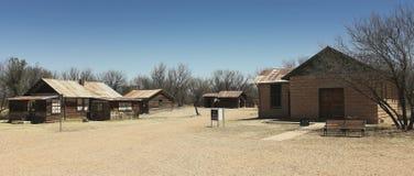 Un Fairbank, Arizona, colpo delle costruzioni della città fantasma Fotografie Stock Libere da Diritti