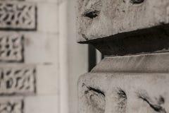 Un fance/parete, vie di Londra, Greenwich fotografie stock libere da diritti