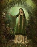 Guardiano del giardino segreto royalty illustrazione gratis