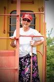 Un femme plus âgé photos libres de droits