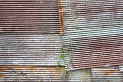 Un fer ondulé rouillé Photographie stock