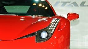 Un Ferrari 458 Itatia Fotografía de archivo libre de regalías