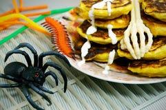 Un festin pour Halloween Photographie stock libre de droits