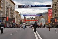 Un festival à Moscou Photographie stock