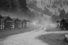 Un fine settimana nelle montagne! Fotografie Stock Libere da Diritti