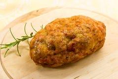 Un finement haché de mélangé viande-rôti Photos libres de droits