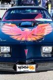 Un Firebird nero Immagine Stock Libera da Diritti