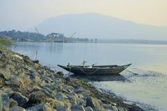Un fisherman& x27; sustento de s Fotos de archivo libres de regalías