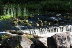 Un fiume Fotografie Stock