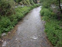 Un fiume in Bulgaria fotografia stock libera da diritti