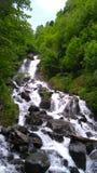 Un fiume della montagna Immagine Stock Libera da Diritti