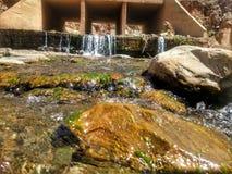 Un fiume di bello angolo Fotografia Stock Libera da Diritti