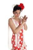 Applaudissement de Flamenca Image libre de droits