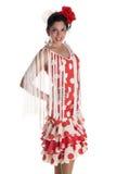Femme de Flamenca Photographie stock