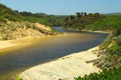 Un fleuve paisible Image stock