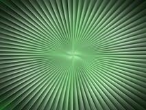 Un foglio verde piacevole Immagine Stock