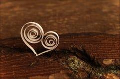 Un fond avec le coeur par Saint-Valentin de St Photographie stock