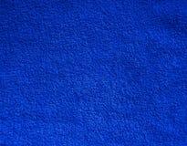 Un fond bleu de fibre Photos libres de droits