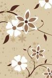 Un fond de conception florale Images libres de droits
