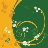 Un fond de conception florale Photo libre de droits