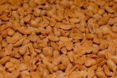 Un fond des arachides salées délicieuses, une texture des arachides images stock