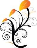 Un fond floral Images libres de droits