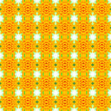 Un fond inférieur jaune de fleur de fleur, modèle sans couture, peut représentant Photo stock
