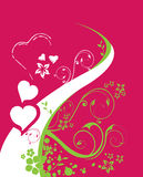 Un fond pour le jour de Valentine Photographie stock