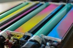 Un fonditore della stampante a laser immagine stock
