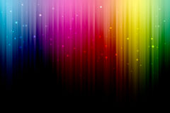 Arco iris de Digitaces Foto de archivo libre de regalías