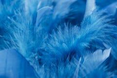 Un fondo blu Fotografie Stock