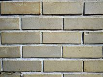 Un fondo de la pared de ladrillo Fotografía de archivo