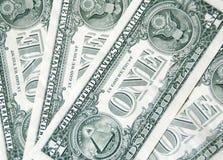 Un fondo delle banconote del dollaro Immagine Stock Libera da Diritti