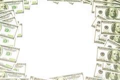 Un fondo di 100 dollari Fotografie Stock