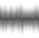 Un fondo di semitono in bianco e nero astratto Immagine Stock Libera da Diritti
