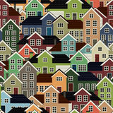 Fondo de los suburbios ilustración del vector
