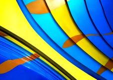 Un fondo moderno colourful di struttura fotografie stock